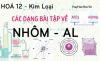 Phương pháp giải các dạng bài tập về Nhôm AL, hỗn hợp và hợp chất của Nhôm - hóa lớp 12